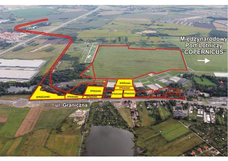 Działka na sprzedaż - Graniczna dz. nr 2/2, 1/138 Fabryczna, Wrocław, 16 959 m², 2 050 000 PLN, NET-362