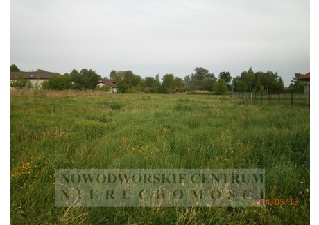Działka na sprzedaż - Nowy Dwór Mazowiecki, Nowy Dwór Mazowiecki, Nowodworski, 1200 m², 120 000 PLN, NET-742/251/ODzS