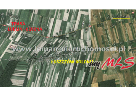Działka na sprzedaż - Łuszczów-Kolonia, Łęczna, Łęczyński, 1538 m², 84 000 PLN, NET-LEM-GS-5870