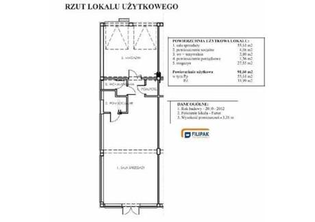 Lokal do wynajęcia - Rzeszów, 91,6 m², 403 040 PLN, NET-27550620