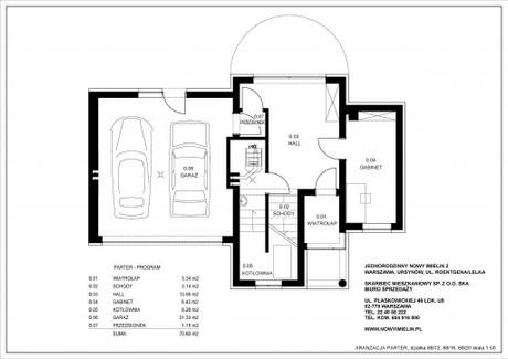 Dom na sprzedaż - Roentgena 43 Stary Imielin, Ursynów, Warszawa, 217 m², 1 450 000 PLN, NET-43D
