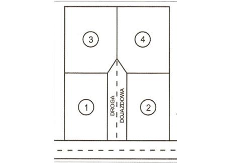 Działka na sprzedaż - Obrowiec, Gogolin, Krapkowicki, 1404 m², 55 000 PLN, NET-56