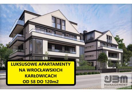 Mieszkanie na sprzedaż - Karłowice, Psie Pole, Wrocław, 58,5 m², 740 000 PLN, NET-14
