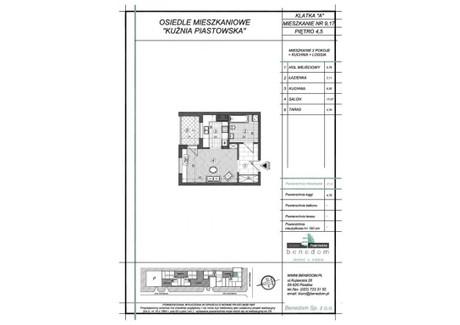 Mieszkanie na sprzedaż - ul. Sowińskiego Warszawa, Piastów, pruszkowski, 37,51 m², inf. u dewelopera, NET-4A9
