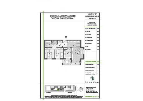 Mieszkanie na sprzedaż - ul. Sowińskiego Warszawa, Piastów, pruszkowski, 72,21 m², inf. u dewelopera, NET-4C18