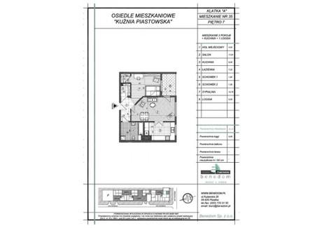 Mieszkanie na sprzedaż - ul. Sowińskiego Warszawa, Piastów, pruszkowski, 55,28 m², inf. u dewelopera, NET-7A35