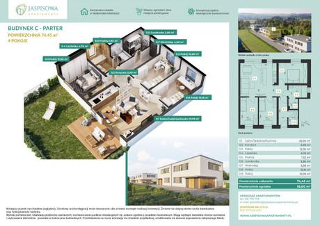 Mieszkanie na sprzedaż - ul. Jaspisowa 6 Pobitno, Załęże, Rzeszów, 74,45 m², 387 000 PLN, NET-6C/1