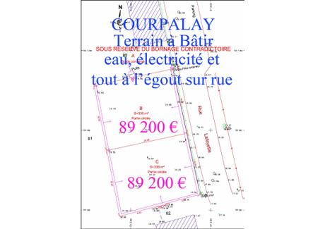 Działka na sprzedaż - Courpalay, Francja, 336 m², 79 840 Euro (365 667 PLN), NET-48684403